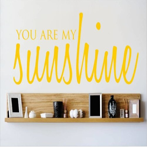 Design With Vinyl You Are My Sunshine Wall Decal