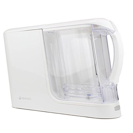 f21ed4ad7 Aquasana AQ-CWM-P-W Clean Water Machine with Pitcher , White - Walmart.com