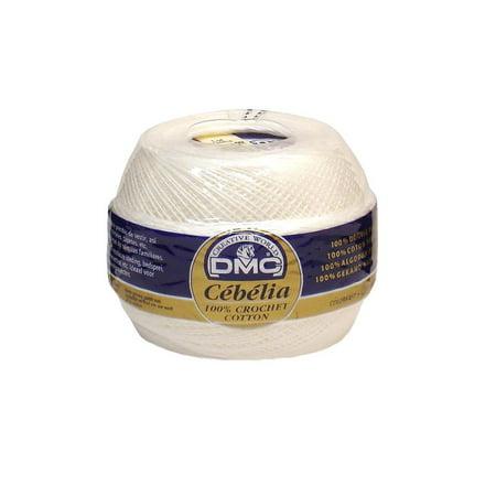 DMC Cebelia Crochet Cotton 30 White