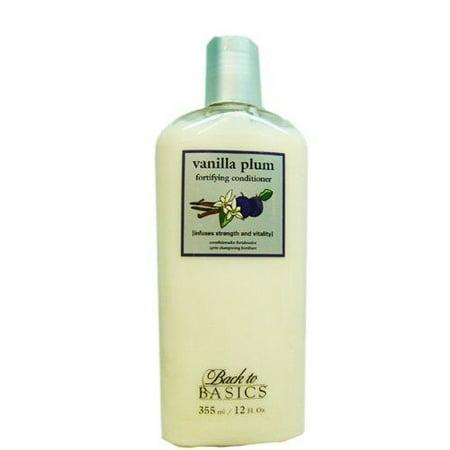 Basics Vanilla Plum Fortifying Conditioner 12oz