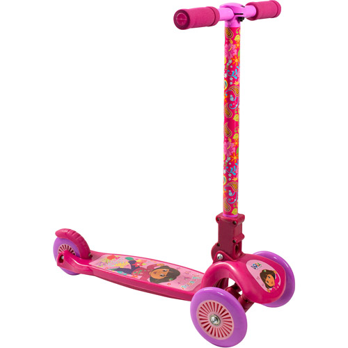 Dora the Explorer Kids' Leaning Scooter, Pink