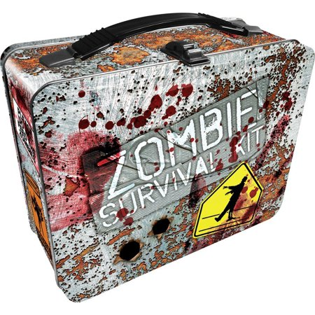 Lunch Box - Zombie Survival - Gen 2 Metal Tin Case New Licensed - Metal Lunchbox