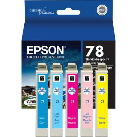 Epson, EPST078920S, T078920S Color Ink Cartridge Set