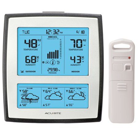 AcuRite 12-Hour Forecaster, Silver