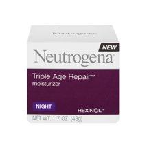 Facial Moisturizer: Neutrogena Triple Age Repair Night Moisturizer