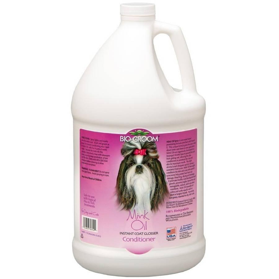 Bio-Groom Mink Oil Spray Conditioner, 1 Gallon