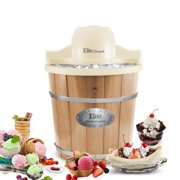 Best Electric Ice Cream Makers - Elite Gourmet EIM-924L 4 Quart Old Fashioned Bucket Review