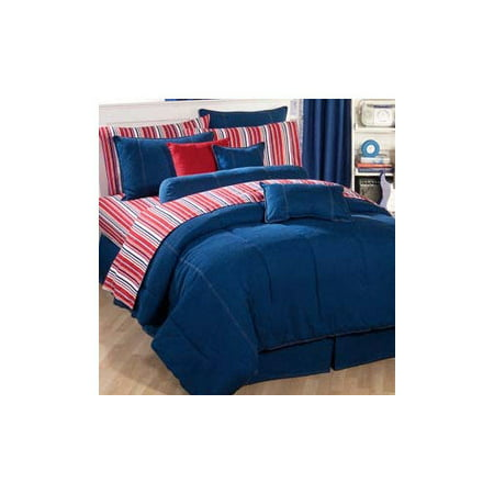 Wildon Home American Denim Comforter Walmart Com