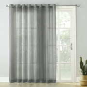 No. 918 Emily Extra-Wide Sheer Voile Sliding Door Patio Curtain Panel