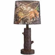 Mossy Oak Stump Accent Lamp with Mossy Oak Camo Shade