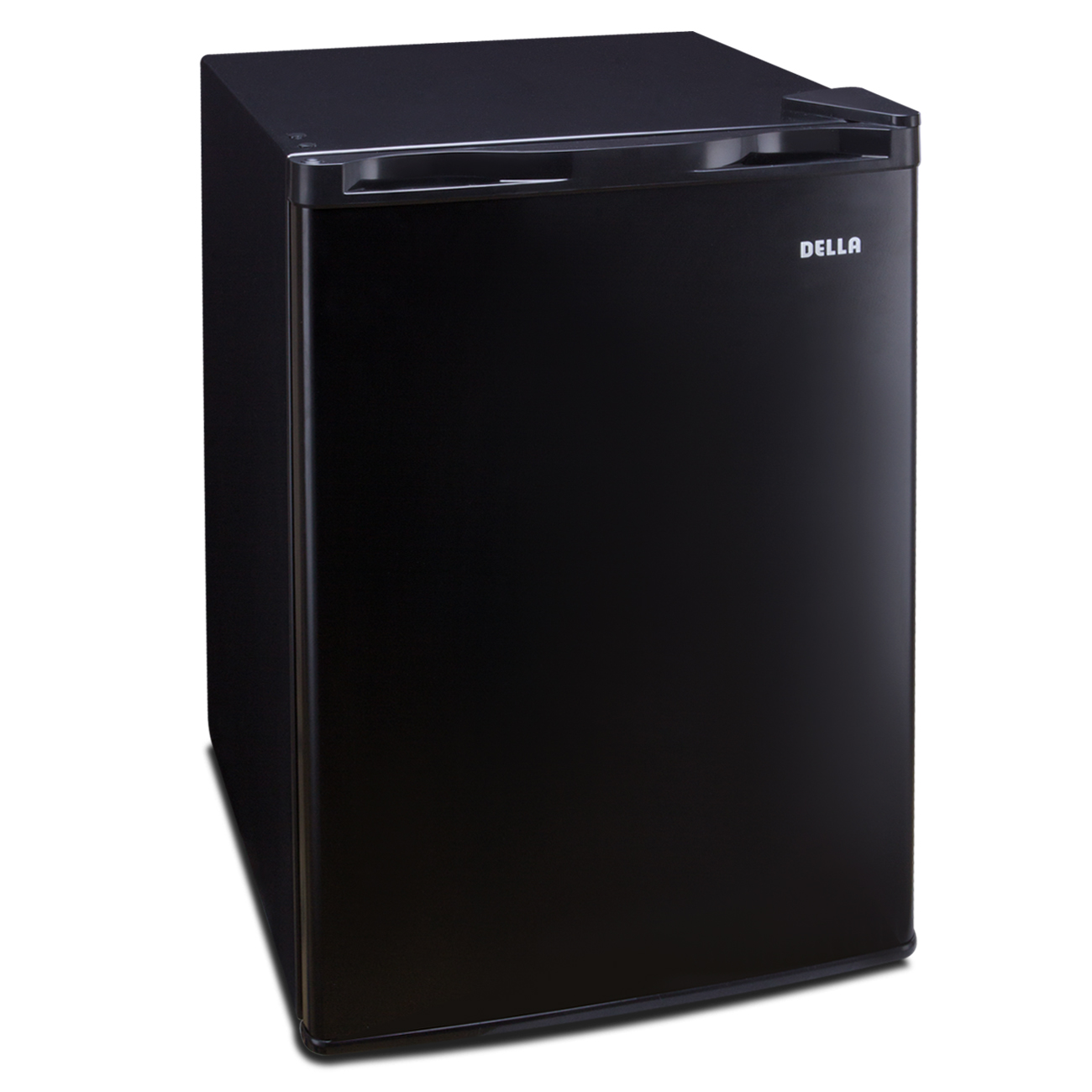 Della 2.6 cu ft Mini Refrigerator Fridge Freezer Compact Cooler Dorm, Black