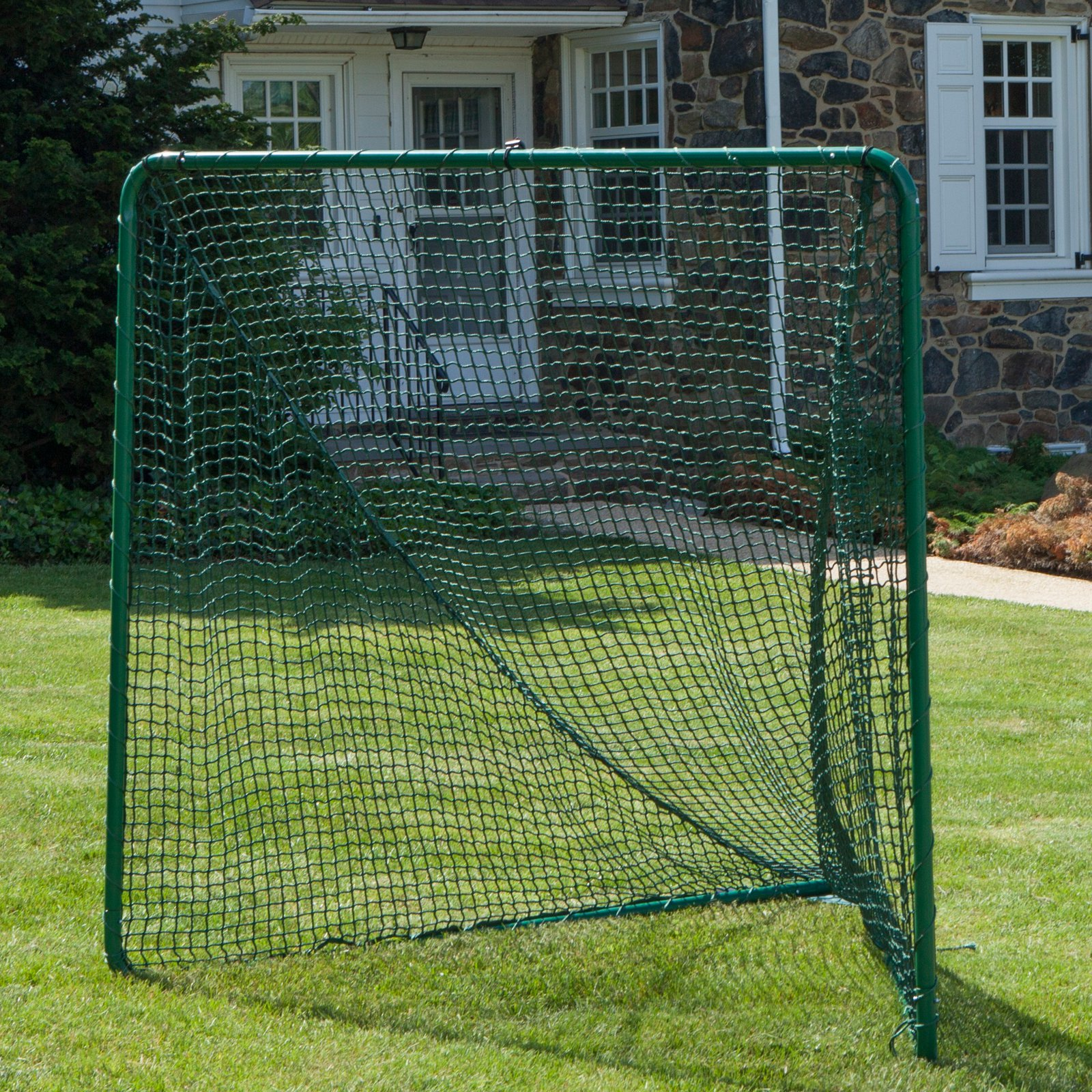 Click here to buy FoldFast The Green Lacrosse Goal with 5 MM Net by Fold Fast Goals.