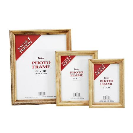 Wood Frame Oak: 4 x 6 inches