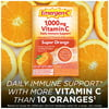 Emergen-C 1000mg Vitamin C Powder, with Antioxidants, B Vitamins and Electrolytes for Immune Support, Caffeine Free Vitamin C Supplement Fizzy Drink Mix, Super Orange Flavor - 10 Count