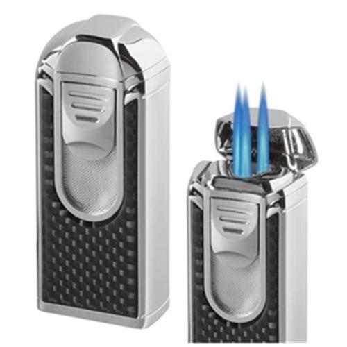 Visol VLR501201 Yozora Triple Jet Flame Carbon Fiber Cigar Lighter