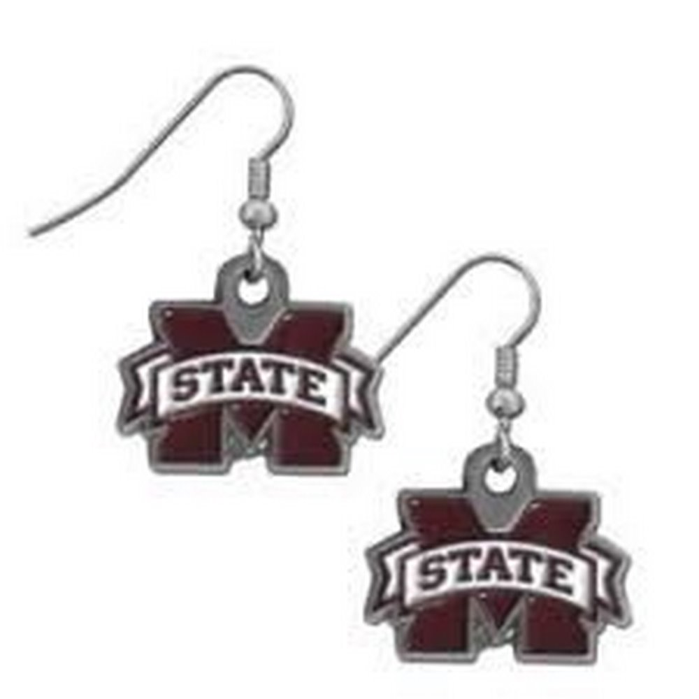 NCAA Officially Licensed Logo Dangle Earrings