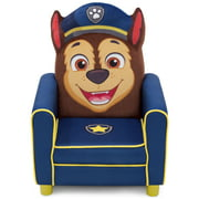 Delta Children PAW Patrol Chase Figural Upholstered Kids Chair, Paw Patrol
