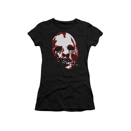 Bloody Face (American Horror Story TV Series Creepy Bloody Face Juniors Sheer T-Shirt)
