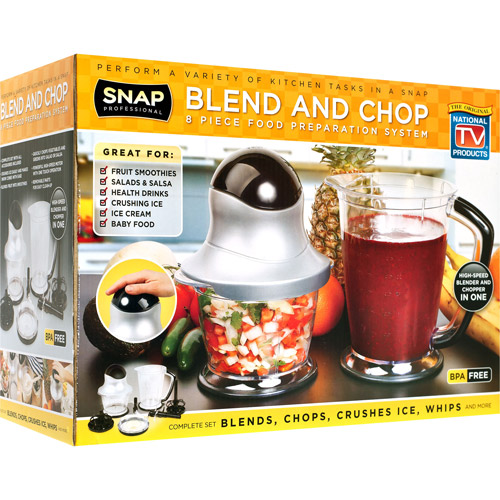 Blend and Chop 8 Piece Food Preparation System