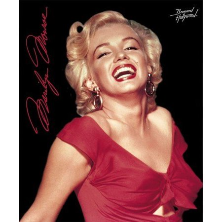 Marilyn Monroe Red Dress Fleece Throw Signature Collection by, Size 50