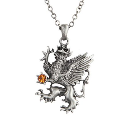 Heraldic Griffin Necklace Fantasy Jewelry (Griffin Jewelry)