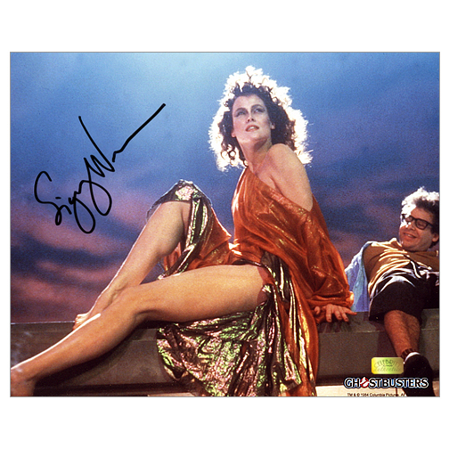 Sigourney Weaver Autographed 8?10 Ghostbusters Dana Barrett Photo
