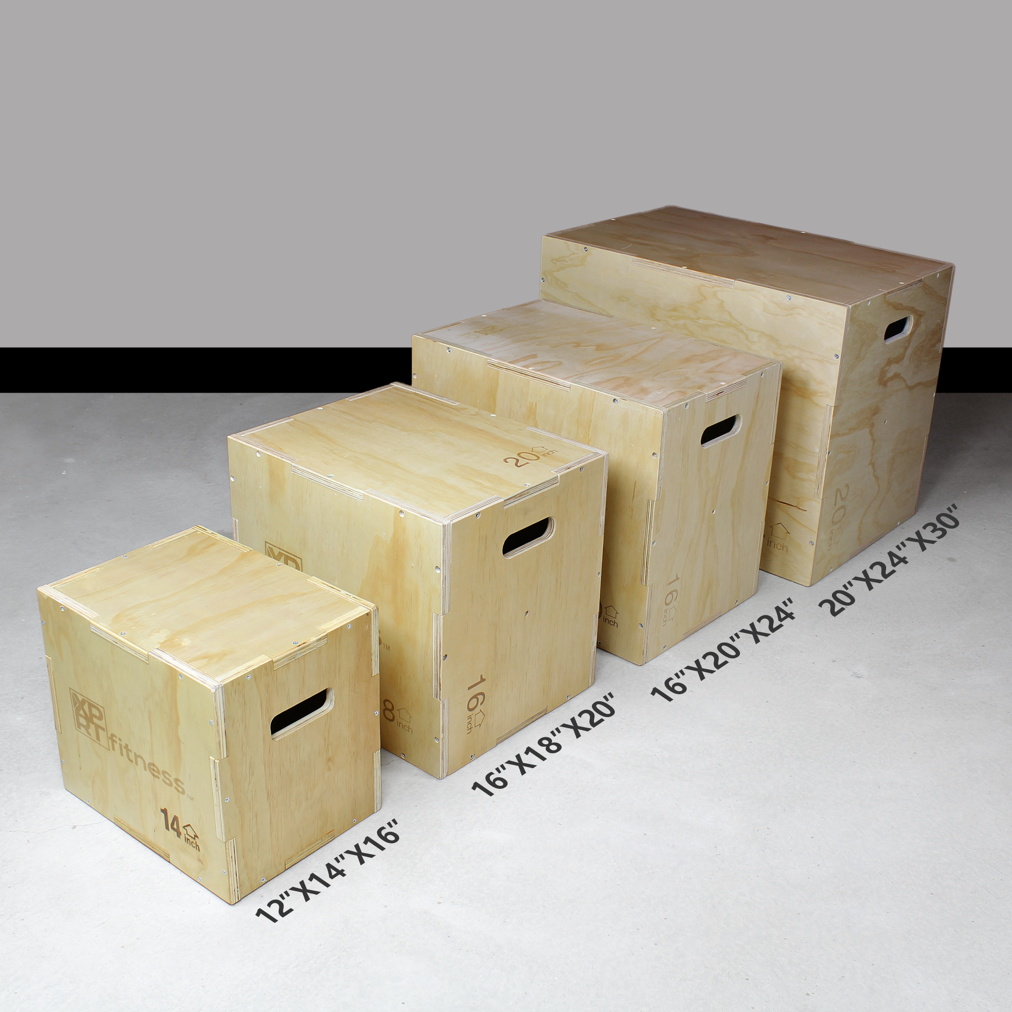 Details about  /XPRT Fitness 3 in 1 Wood Plyometric Jump Box Fitness Training Conditioning Step
