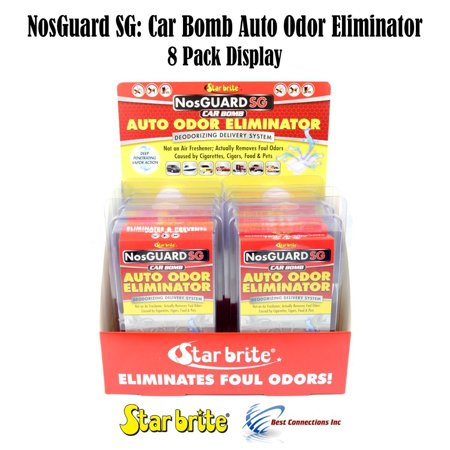 Auto Odor Eliminator Control System Car Bomb Star Brite 19908 *8 Pack (Best Car Freshener For Smokers)