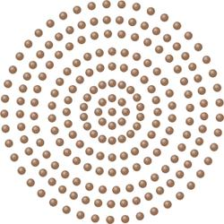 Chocolate - Couture Creations Self-Adhesive Pearls 2mm 424/Pkg