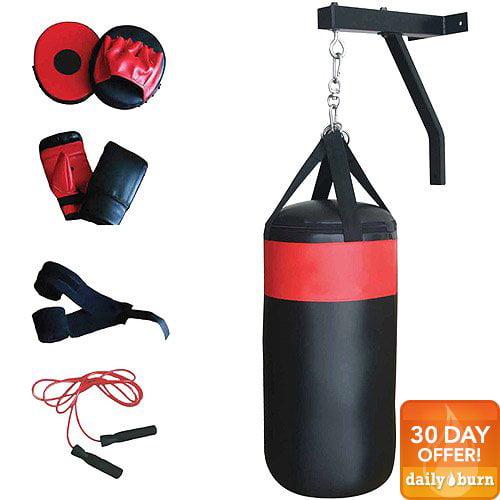 CAP Barbell Boxing / Punching Bag & Gloves Set