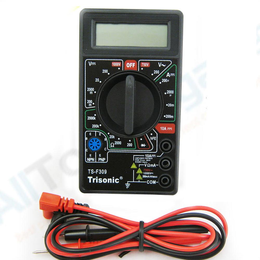 Portable Digital Multimeter Lcd AC DC Voltage Electronic Meter Tester Voltmeter by Trisonic
