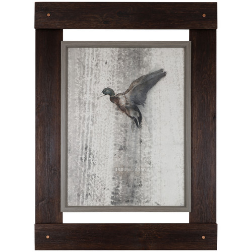 Hobbitholeco. 46'' H x 33.25'' W Ready to Hang 'Fly High' by Danie St Amant, Wildlife Fresco Craft Wall Art