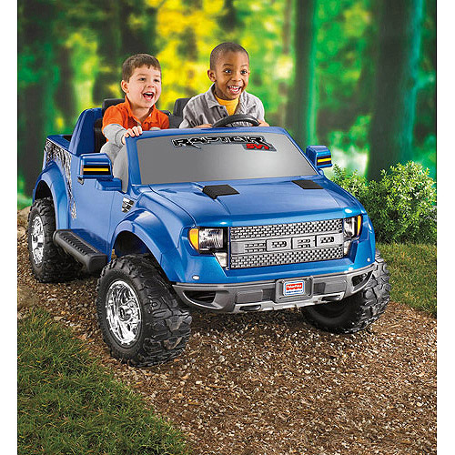 Fisher-Price Power Wheels Ford F-150 Raptor 12-Volt Battery-Powered Ride-On