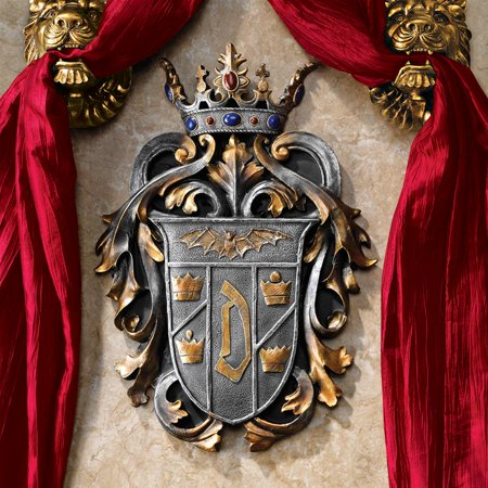 Design Toscano Count Dracula's Coat of Arms Wall