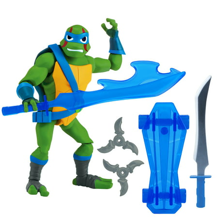 Rise of the Teenage Mutant Ninja Turtle Leonardo Action Figure (Ninja Turtle Cake Kit)