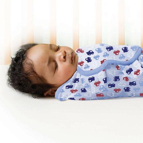 Garanimals SwaddleMe Infant Wrap, 2-Pack, Around Town, Large