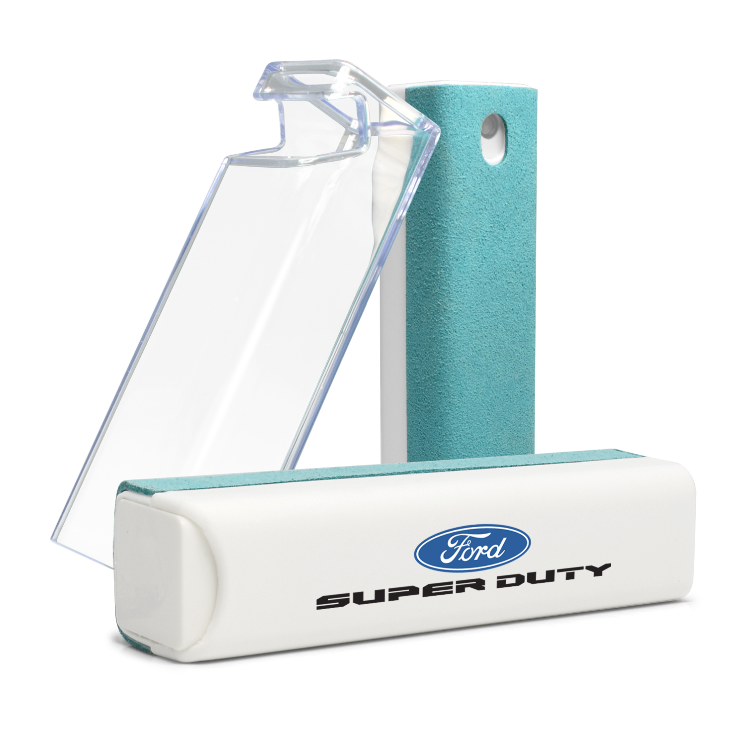 Ford Super-Duty Blue Microfiber Screen Cleaner for Car Navigation, Cell Phone