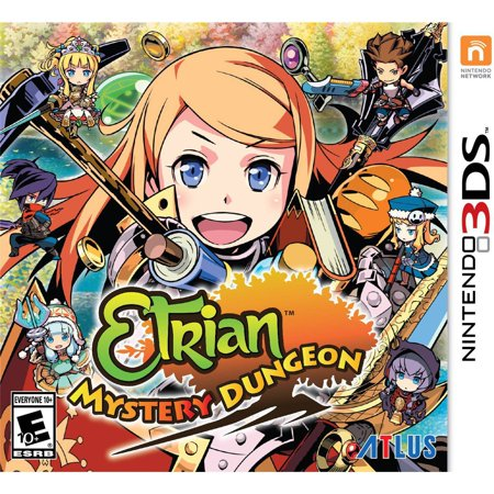 Atlus Etrian Mystery Dungeon - Role Playing Game - Nintendo 3ds - English (em-30021-1)