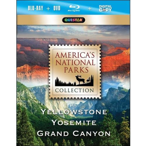 America's National Parks Collection: Yellowstone / Yosemite / Grand Canyon (Blu-ray)