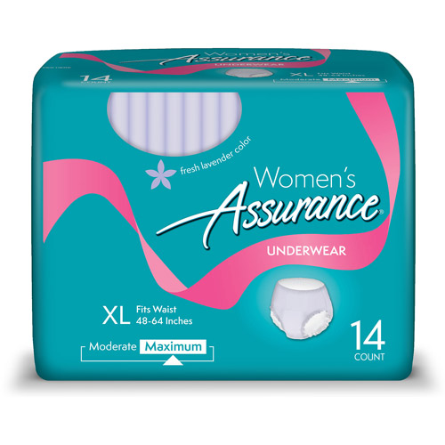 Assurance For Women Maximum Absorbency X-Large Underwear, 14ct