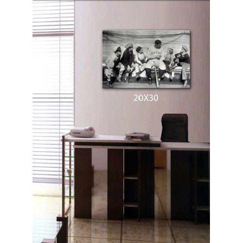 MLB New York Yankees 22X28 Printed Artwork - Babe Ruth