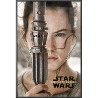 "Star Wars: Episode VII - The Force Awakens - Movie Poster / Print (Rey Teaser) (Size: 24"" x 36"")"