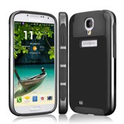 Galaxy S4 Case, Tekcoo [TDuke HY] Dual Layer Hybrid Impact Defender Slim Hard Case Cover Plastic Shell Outer+Soft TPU Rubber Silicone Inner For Samsung Galaxy S4 S IV I9500 GS4 All Carriers