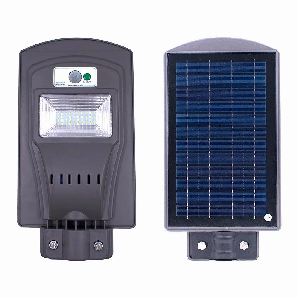 Akoyovwerve 20W Powered Solar Wall Light LED Motion Sensor Wall Lamp Waterproof Wireless Porch Lights Outdoor Security Lighting Nightlight