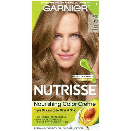 Garnier Nutrisse Nourishing Hair Color Creme (Blondes), 72 ...