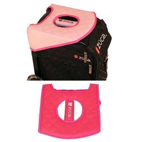 Zuca Padded Reversible Seat Cushion - Pink / Pale Pink