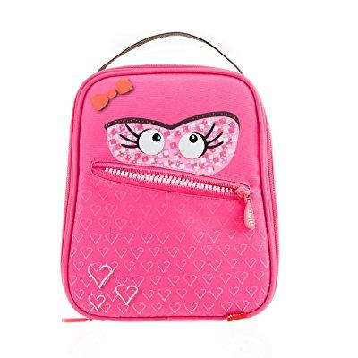 Zipit Talking Monstar Pink Lunch Bag