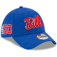 Buffalo Bills New Era 2019 NFL Sideline Home Official 39THIRTY 1960s Flex Hat - Royal