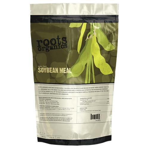 Roots Organics Non-GMO Organic Soybean Meal 40 lb