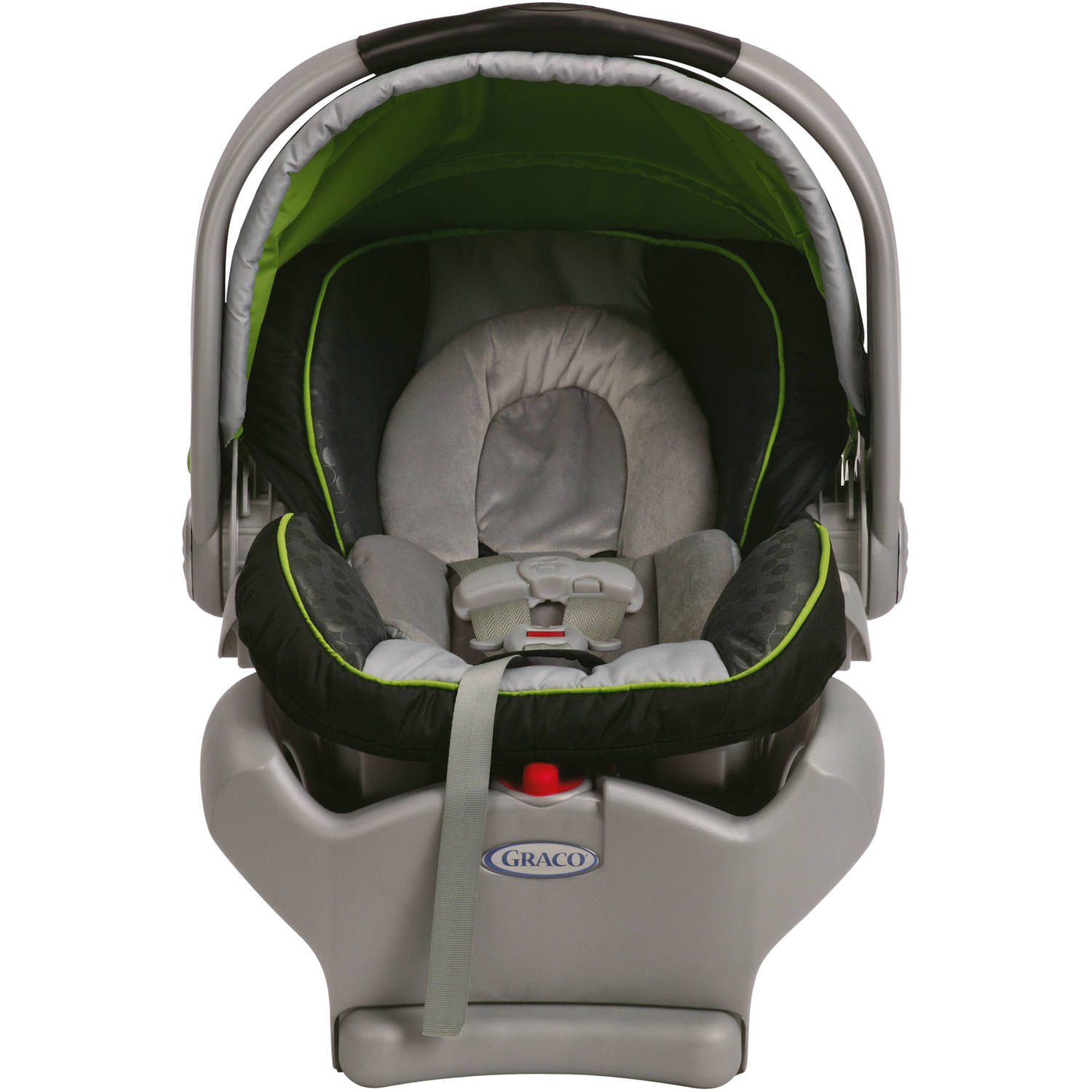 Graco SnugRide Classic Connect 35 Infant Car Seat Dottis Green